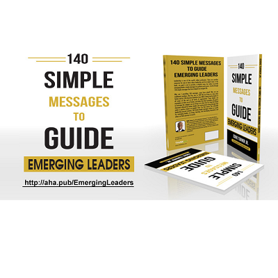 Are You an Emerging Leader Who Wants to Learn, Live, and Develop Yourself Towards Success? Here's 5 AHAs from Eddie Turner for You